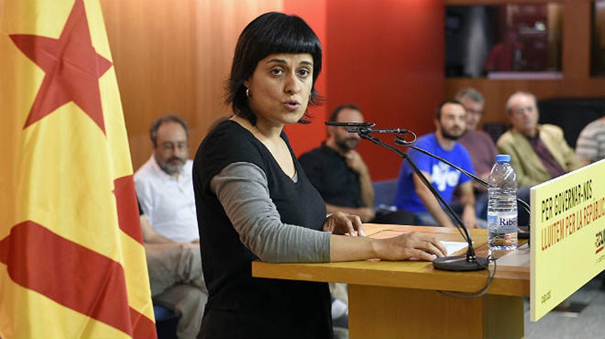 La número dos de la CUP, Anna Gabriel ha reiterado el rechazo de su formación a que Artur Mas sea reelido como presidente de la Generalitat.