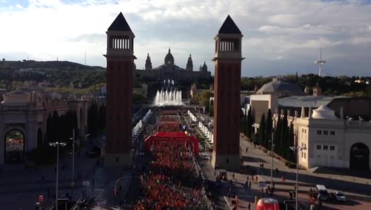 Barcelona vive la 38ª edición de la Cursa de la Mercè