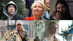 Stephen Graham, Emma Thompson, Nell Tiger Free, Joe Exotic y Elle Fanning.