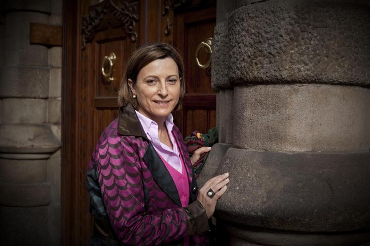 La presidenta de la Assemblea Nacional Catalana, Carme Forcadell.