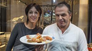 Una propuesta del restaurante Alkimia. Lo explican Jordi Vilà y Sonia Profitós.