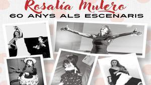 Santa Coloma acull l'exposició 'Rosalía Mulero. 60 anys als escenaris'