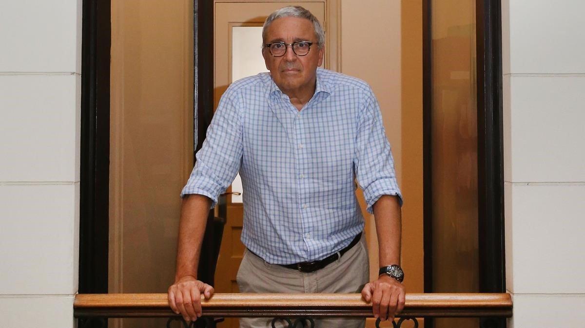 Xavier Melero, abogado de Joaquim Forn en el juicio del 'procés'.