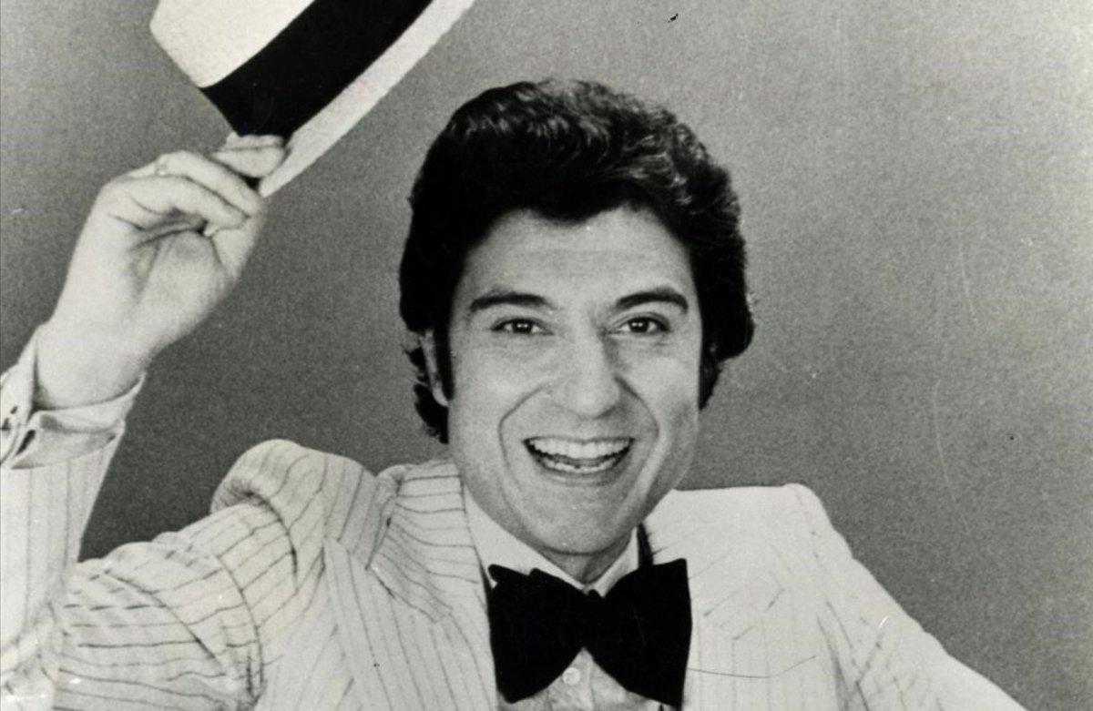 Andrés Pajares, en los tiempos de su espectáculo en la sala Windsor de Madrid, a principios de los 80.