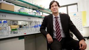 Manuel Serrano, en su nuevo laboratorio del IRB Barcelona, en el Parc Científic de Barcelona.