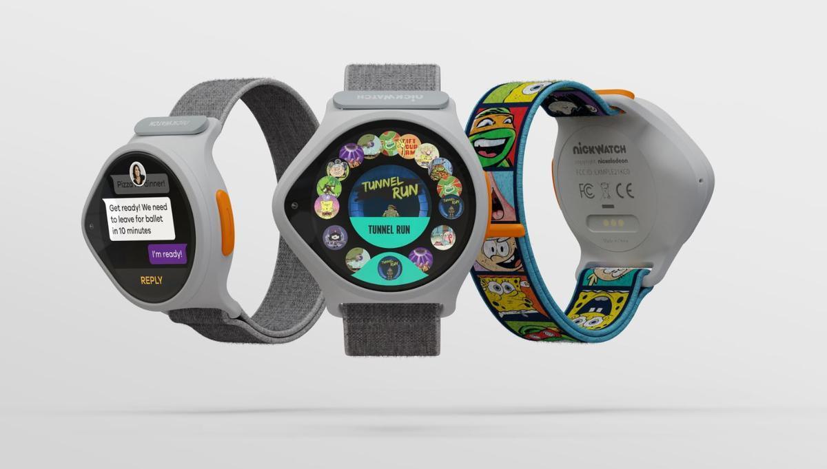 Reloj inteligente NickWatch.