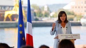 Anne Hidalgo: He decidido ser candidata a la presidencia de la República francesa.