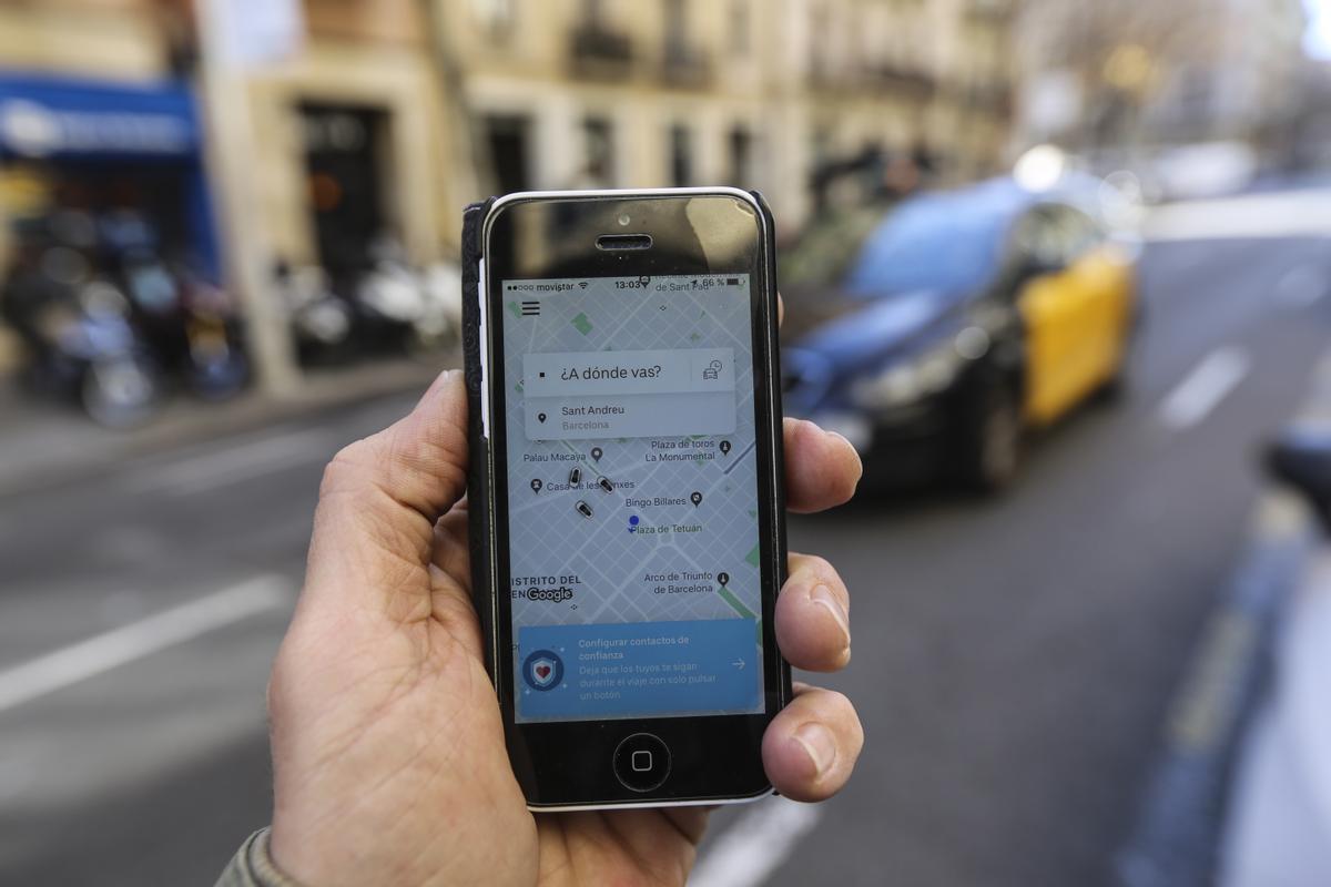 Élite Taxi convoca una mobilització la setmana del 17 de maig contra Cabify a Barcelona
