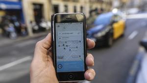 Uber denuncia Élite Taxi per boicotejar el seu retorn a Barcelona