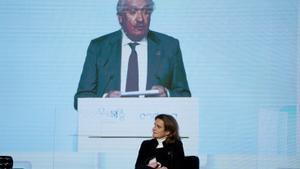 Teresa Ribera, vicepresidenta cuarta y ministra para la Transición Ecológica y Reto Demográfico, presentada por José D. Bogas Gálvez, consejero delegado de ENDESAFOTO:JOSE LUIS ROCA