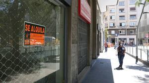 L'economia catalana va caure el 2020 al nivell de quatre anys enrere