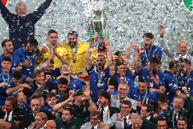 La celebración de Italia