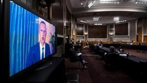 El Senat dels EUA censura Twitter i Facebook per la seva gestió de continguts en les eleccions