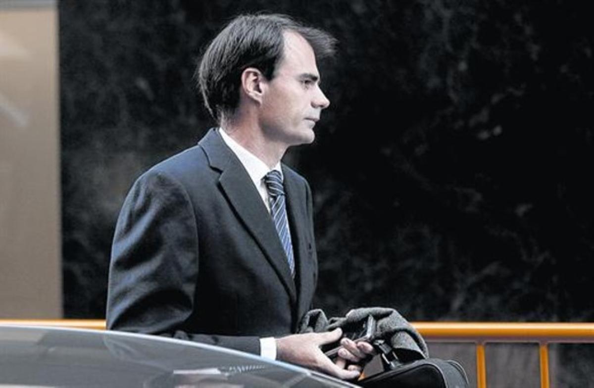 El magistrado Pablo Ruz, a su llegada a la Audiencia Nacional el pasado 5 de diciembre.