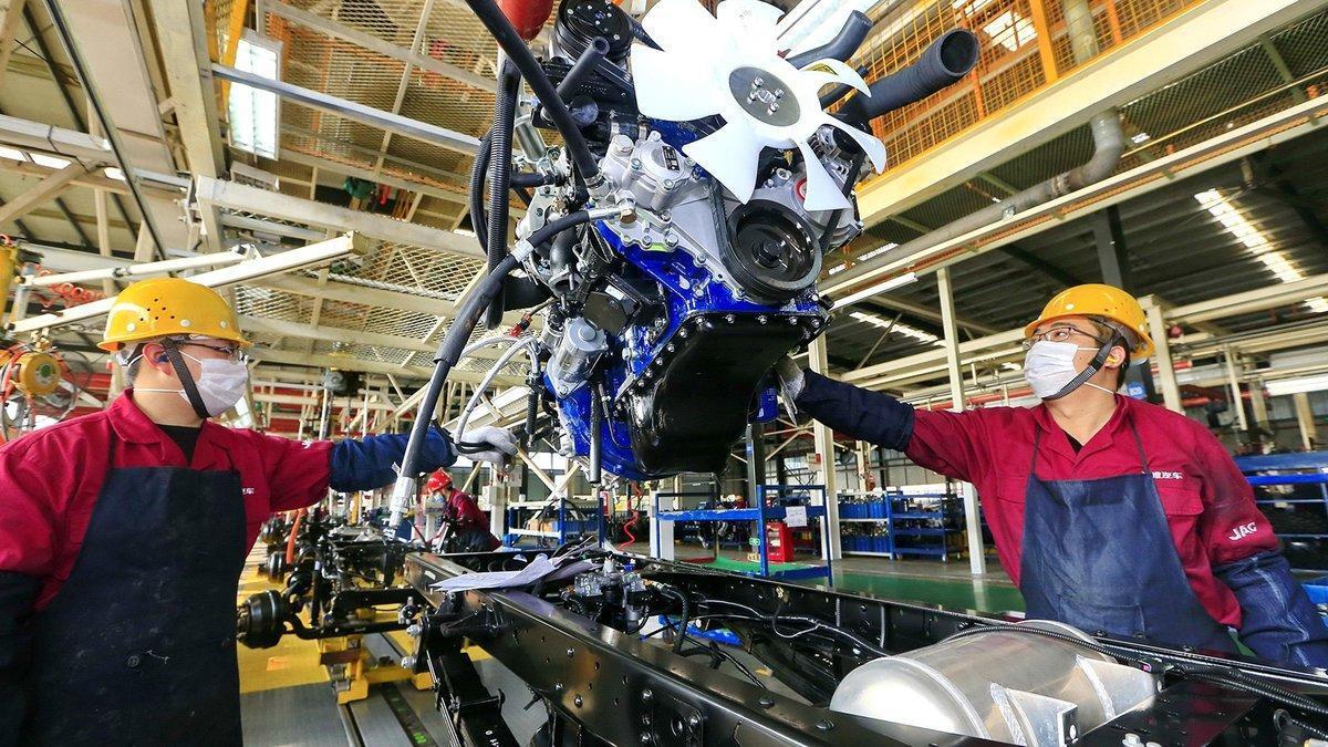 Fábrica productora de vehículos