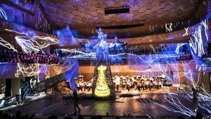 Una imagen de 'Pastoral for the planet', homenaje a Beethoven dirigido por Carlus Padrissa, de La Fura dels Baus