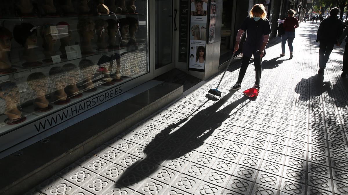 Plan de choque para limpiar Barcelona: Les Corts