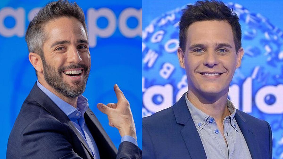 El gesto de Roberto Leal con Christian Gálvez tras celebrar 20 años de 'Pasapalabra'