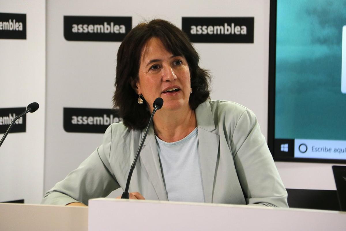 Elisenda Paluzie, presidenta de la ANC.