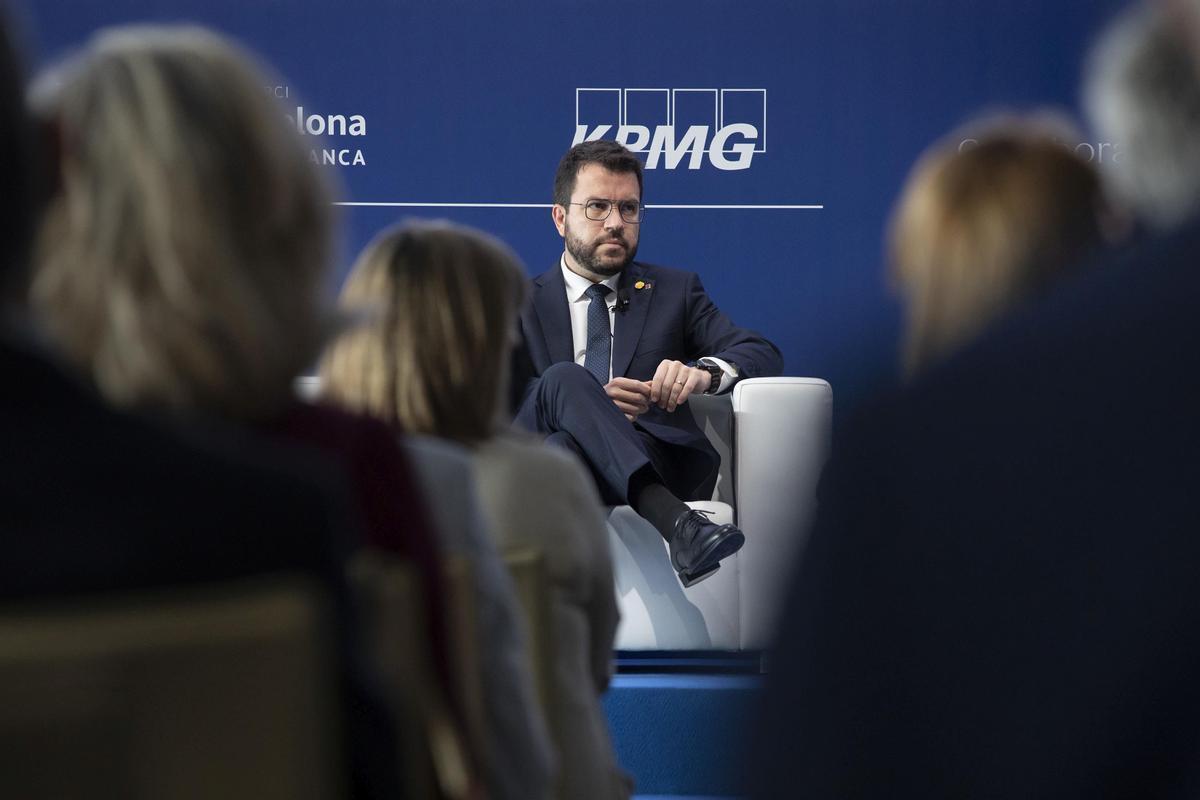 Aragonès quiere que Catalunya vote la propuesta que salga de la mesa de diálogo