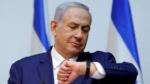 Binyamin Netanyahu.