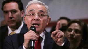 El expresidentede Colombia, Álvaro Uribe.