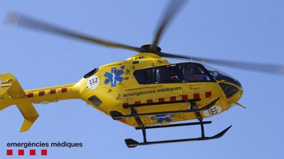 Un helicóptero del SEM, en una imagen de archivo.