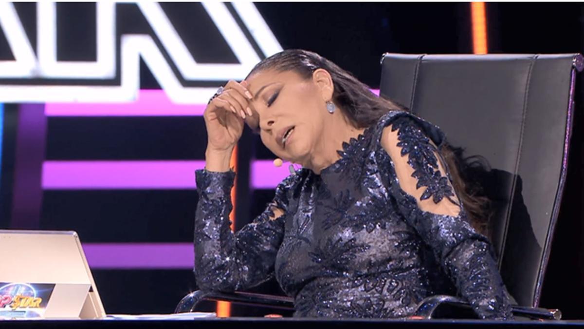 Isabel Pantoja en 'Top Star' (Tele 5).