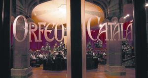 ROJO VIVO Reunión del patronato de la Fundació Orfeó Català-Palau de la Música, en noviembre del 2009