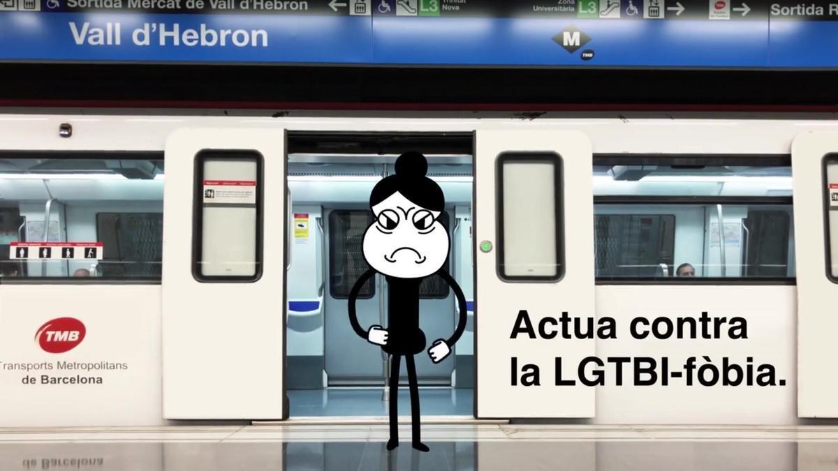 campaña de TMB contra la LGTBI-fobia