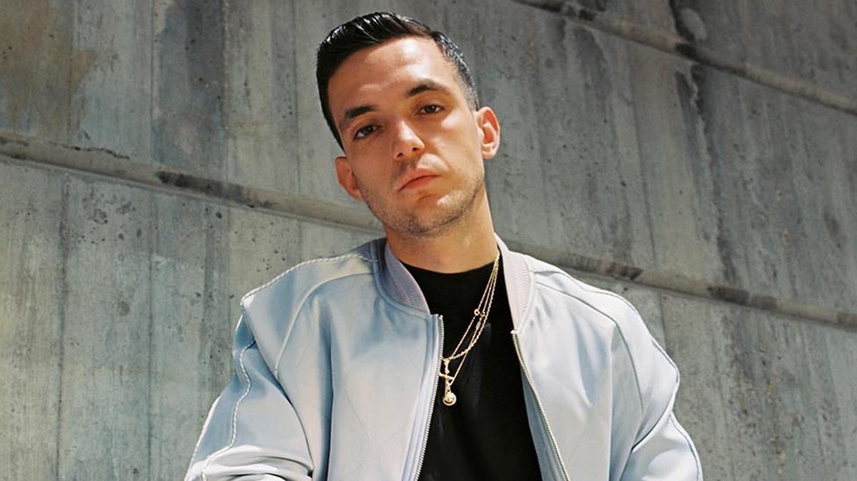El rapero madrileño C. Tangana.