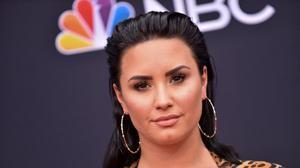 Demi Lovato, en una gala en Las Vegas, en mayo del 2018.