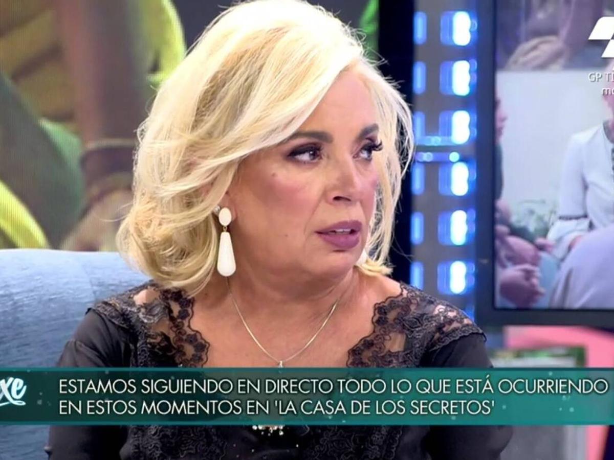 """Carmen Borrego carga contra Bigote Arrocet por sus declaraciones en 'Secret Story': """"Me das mucho asco, eres un desgraciado"""""""