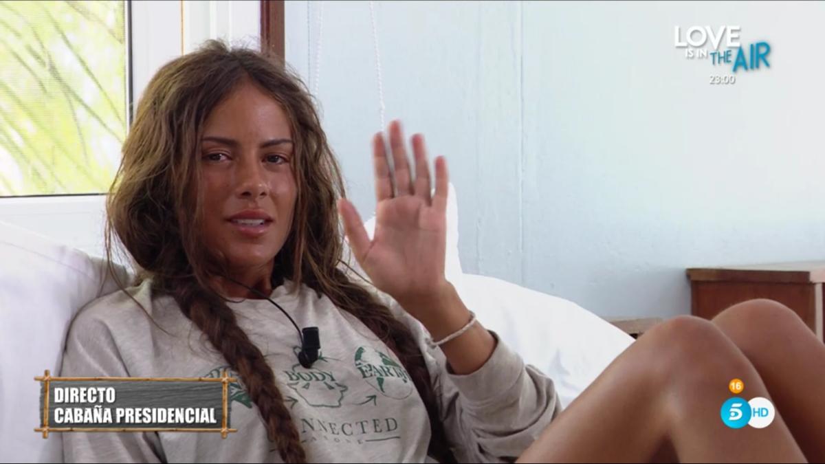 Melyssa, evacuada de 'Supervivientes 2021' per un problema de salut: «No m'aguanto dreta»