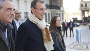 Sandro Rosell, el día en que quedó absuelto por la Audiencia Nacional.