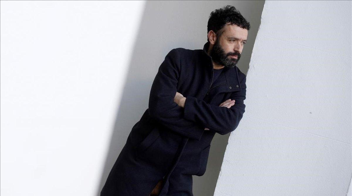 El director Rodrigo Sorogoyen, fotografiado en Madrid.