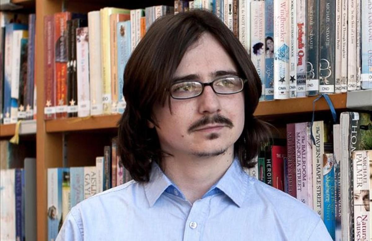 Claudio Cerdán, que acaba de publicar su última novela con el seudónimo de Arthur Gunn.