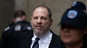Harvey Weinstein, en una comparecencia judicial en Nueva York, en abril pasado.