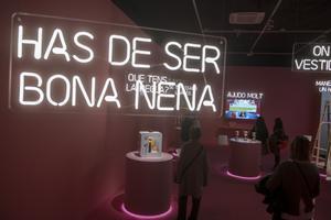 La exposición 'Feminista havies de ser' supera las 70.000 visitas en el Palau Robert
