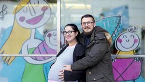 Diana Celeste Mas y Mihai Geanta, que serán padres de gemelas el 1 de enero del 2018.