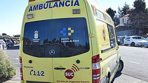 Ambulancia del Sistema d'Emergències Mèdiques.