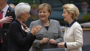 Poder europeu amb sostre de vidre