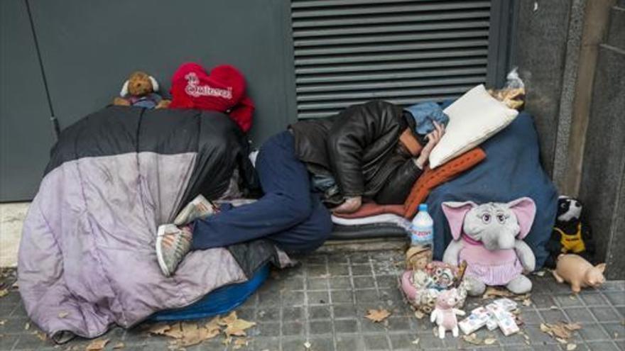 Quién Duerme En La Calle En Barcelona