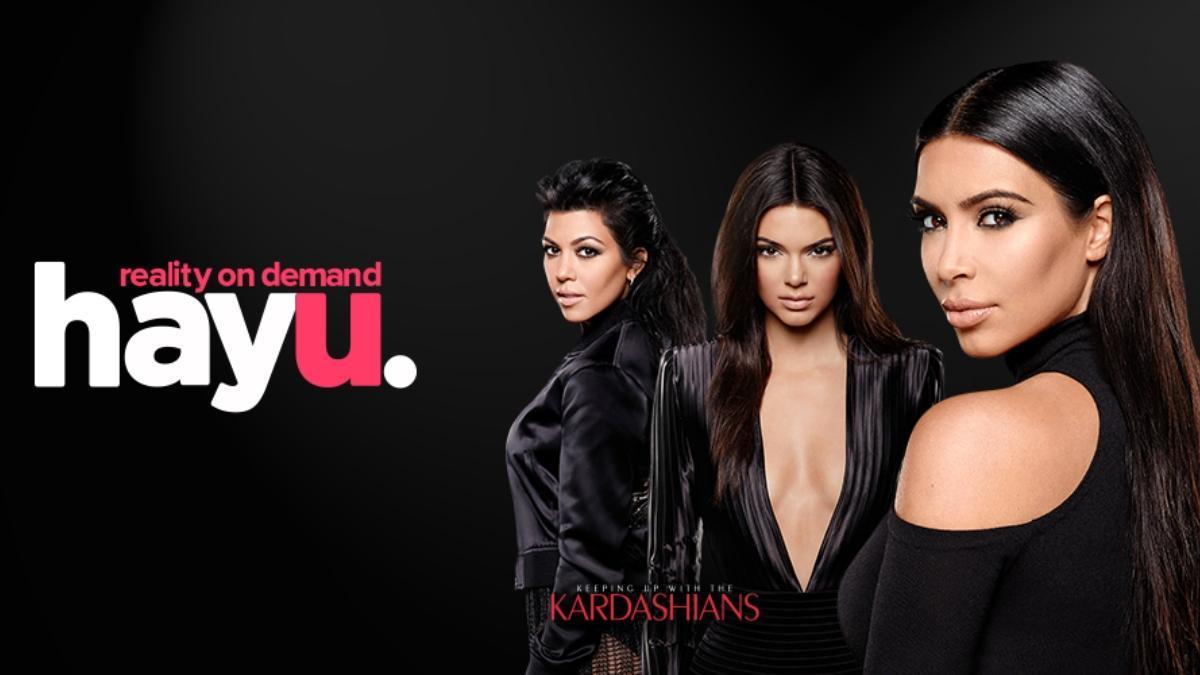 'Las Kardashian' protagonizan la plataforma Hayu, plataforma de 'streaming' alternativa.