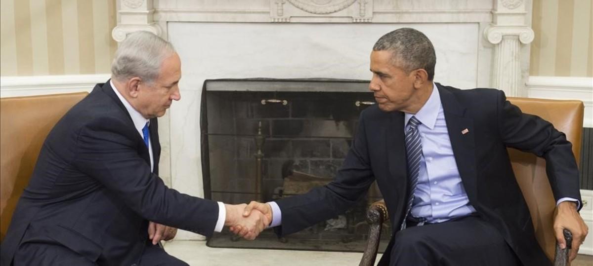 Netanyahu y Obama, en la Casa Blanca en octubre del 2014.