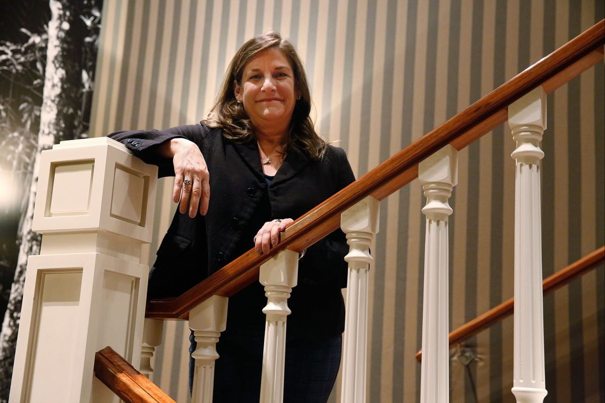 Cynthia d'Aprix Sweeney, autora de 'De buena familia'.