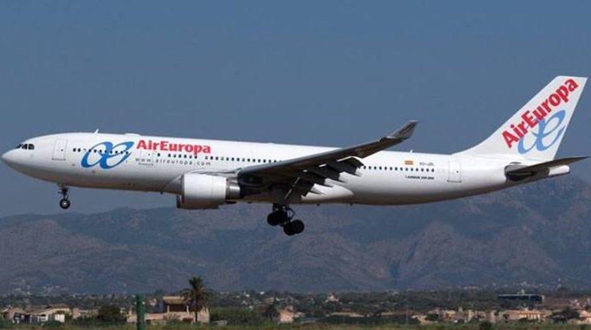 Un avión de Air Europa en una imagen de archivo.