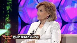 El dardo de María Teresa Campos a 'Sálvame' en su reaparición televisiva con Toñi Moreno