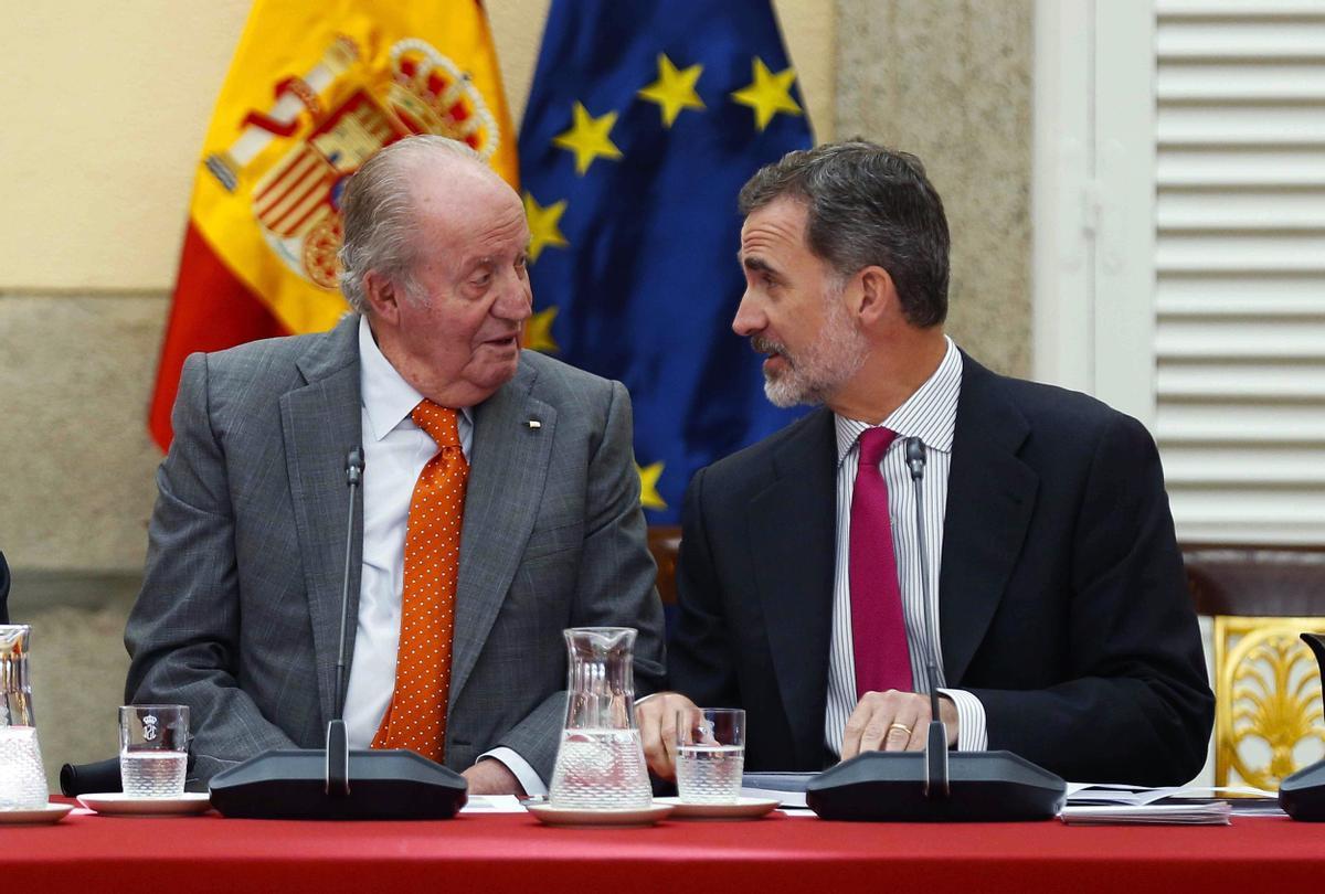 El PSOE, PP i Vox rebutgen investigar Joan Carles I i que Felip VI comparegui al Congrés