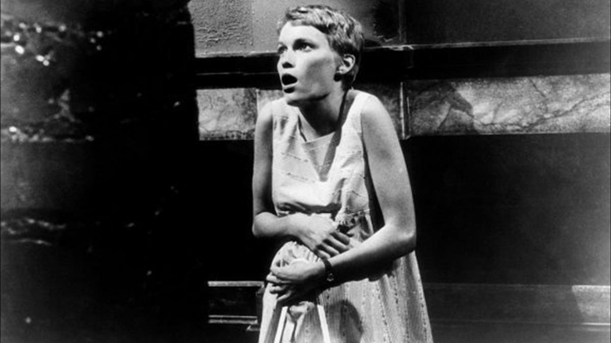 Mia Farrow, en 'La semilla del diablo'.